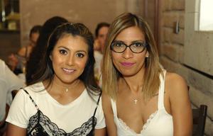Karla Favila y Mónica Esparza