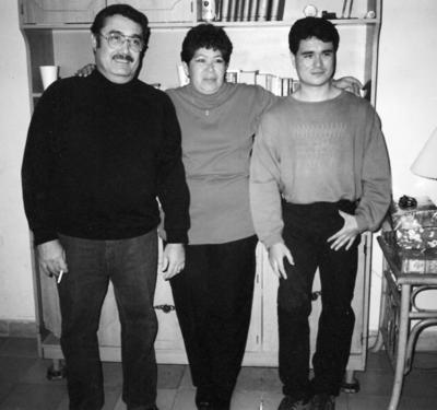 25062017 Ángel Benito, Martha Hernández y Fernando Benito.