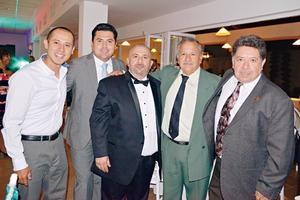 25062017 Vladimir, Ramiro, Emilio, José y Benito.
