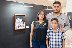 25062017 EN FAMILIA.  Liz, Emilio y Antonio.