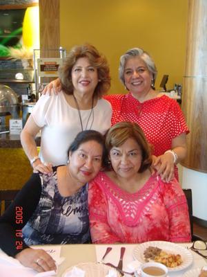 27062017 Ángeles, Imelda, Delia y Paty.