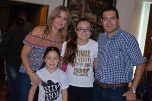 27062017 Marcela, Sofía, Fátima y Luis Antonio.