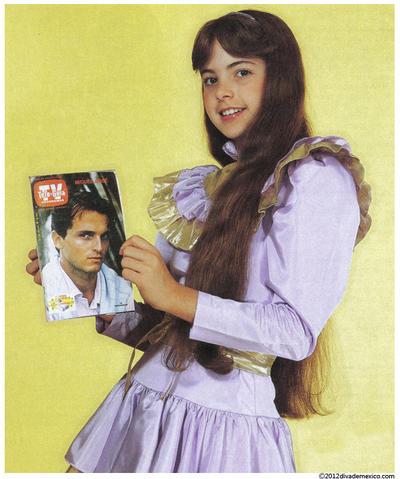 Chispita fue la tercera historia infantil que produjo Valentín Pimstein y fue transmitida en 1982 por el Canal de las Estrellas de Televisa.  La trama colocó a Lucero como una estrella.