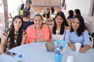 28062017 Marlen, Fernanda, Gabriela y América.