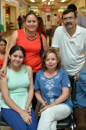 28062017 María Elena, Elsa, Irma y Josefina.
