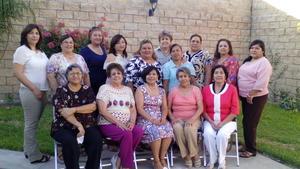 28062017 AMENO FESTEJO.  Eloísa Zarazua festejó su cumpleaños con un grupo de amigas en su residencia particular.