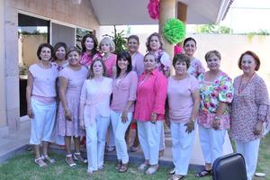 28062017 SE GRADúAN.  Integrantes del Club de Jardinería Lirios.