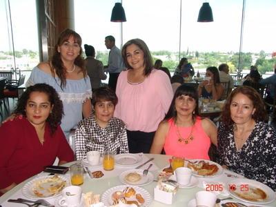 29062017 Mónica, Rosy, Martha, Adriana, Alejandra y Elizabeth.