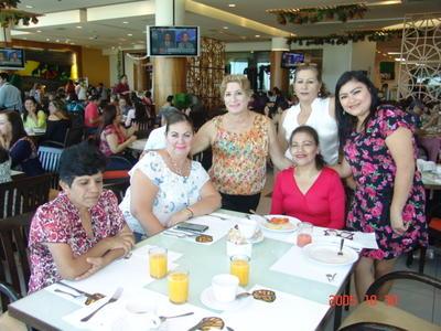29062017 Josefina, Ana María, Jesús de María, María Concepción, Yazmín y Alejandra.