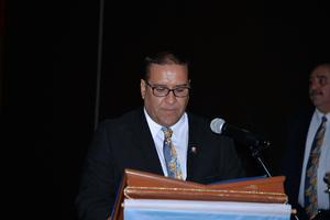 02072017 Ing. Víctor Medrano Reyes, presidente del Club Rotario Torreón Empresarial.