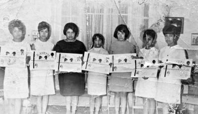 02072017 Graduación Rallette en 1967.