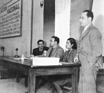 02072017 Comité del PAN en 1939 donde aparece el Dr. Rafael de Lara.