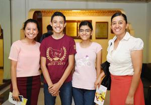 04072017 Ari Álvarez, Hassiel Hernández, Samaria Hernández y María Álvarez.