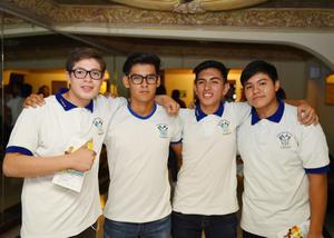 04072017 Lucas David, Christian, Carlos Antonio y Cristian.