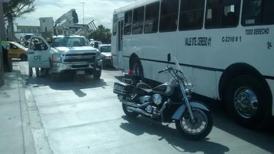 Era un camión de la ruta Valle Oriente-Cereso, con el número económico 18.