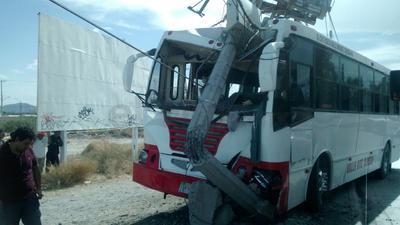 Un fuerte accidente vial se registró en la ciudad de Torreón.