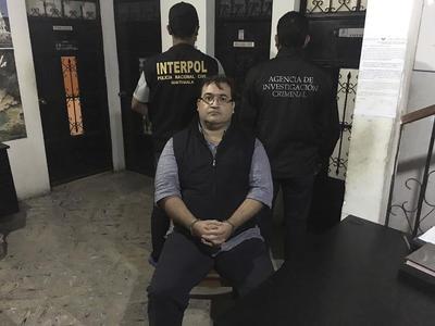 Fue detenido la noche del 15 de abril del año en curso en Guatemala, Guatemala.