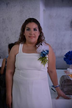 06072017 SE CASARá PRONTO.  Marcela Argentina Alvarado en su despedida de soltera.