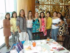 06072017 Mayté, Leticia, Angie, Karla, Rousse, Coco, Karen, Karlita e Ime.