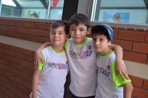 Raul, Adrián y Nayib