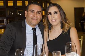 Antonio Medrano y señora