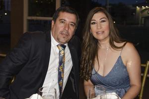 Fernando y Mayra Domínguez