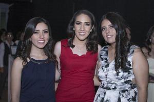Cristina, Valeria y Mariana