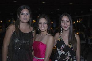 Isabella, Sabrina y Vanessa