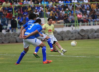 Las anotaciones de la victoria fueron obra de Antonio Carlos Santos, en dos ocasiones y una más de Andrés Chitiva.