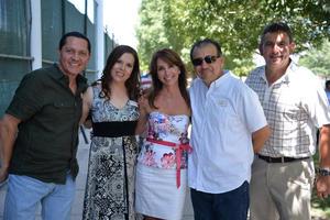 09072017 EN FESTEJO.  Fernando, María Estela, Beba, Chano y José.