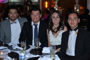 09072017 Paco, Jorge, Selene y César.