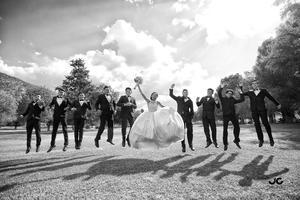 09072017 Andrea y sus chambelanes: Diego, Jair, Eduardo, Isaac, Emilio, Nazario, Erick, Arturo y José Alberto. - JC Studio