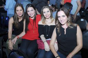 08072017 Lorena, Silvia, Katia y Marcela.