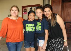 11072017 Dulce, Valeria, Kristen y Maru.