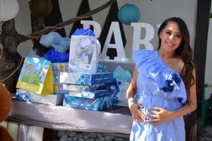 07072017 BABY SHOWER.  Aren Cobián pronto será mamá.