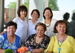 12072017 Esperanza, Lupina, Jose, Lety, Laurita y Lety.