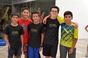 12072017 Leonardo, Alejandro, Emiliano, Diego y Marcelo.