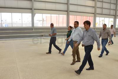 Respecto a la conectividad de este complejo deportivo, indicó que para finales del mes de noviembre estará terminado el bulevar De los Grandes Pintores.