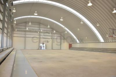 El complejo deportivo representa una inversión global de 70 millones de pesos y cada uno de sus espacios se encuentran en una superficie general de 30 mil metros cuadrados.