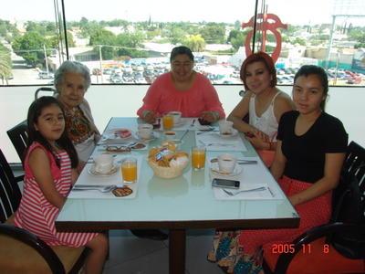 13072017 Moni, Carmen, Carmen, Laura y Ana.