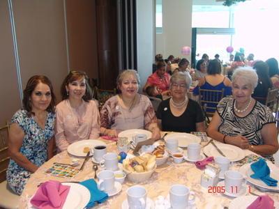 13072017 Tere, Carmelita, Lety, Amparo y Arminda.