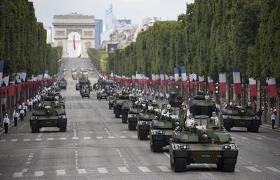 Pese a su impopularidad, la mayoría de franceses ha aprobado la visita de Trump a Francia para asistir a la parada militar, con la que se conmemora el estallido de la Revolución Francesa, de acuerdo a dos sondeos.