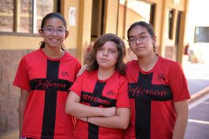 14072017 Marijose, Paula y Angélica.