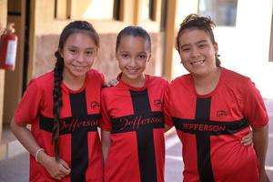 14072017 Isabela, Ximena y Scarlet.