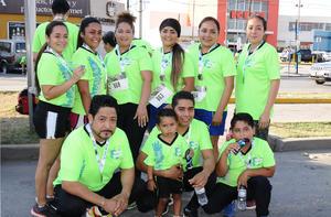 15072017 EN CARRERA.  Juan A., Jazmín, Yudith, Perla, Bere, Martha, Denisse, Sergio, Marco y Juan.