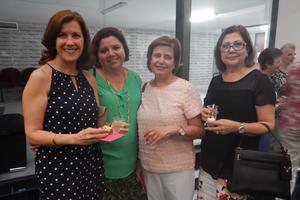 15072017 ENTRE AMIGAS.  Palmira, Pilar, Mila y Refugio.