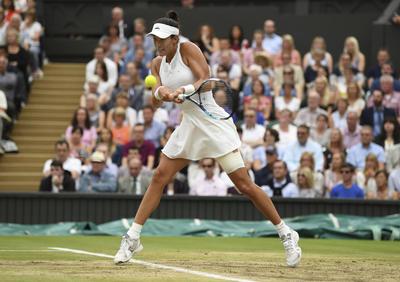 Con un tenis de calidad, la hispano-venezolana está mostrando que puede aspirar a mejores posiciones.