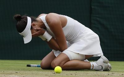 Venció sobre la hierba a la número 11 del ranking mundial por parciales de 7-5 y 6-0 en una hora con 17 minutos.