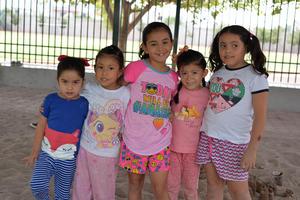 17072017 Salma, Andrea, Michelle, Natalia y Sara.