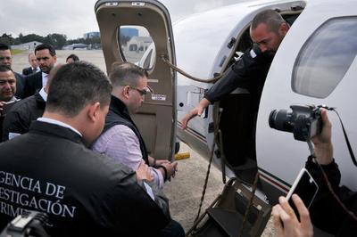 Javier Duarte ya fue extraditado a México.